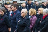 Remembrance Sunday at the Cenotaph 2015: Group M23, Civilians Representing Families. Cenotaph, Whitehall, London SW1, London, Greater London, United Kingdom, on 08 November 2015 at 12:17, image #1566