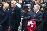 Remembrance Sunday at the Cenotaph 2015: Group M23, Civilians Representing Families. Cenotaph, Whitehall, London SW1, London, Greater London, United Kingdom, on 08 November 2015 at 12:17, image #1568