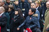 Remembrance Sunday at the Cenotaph 2015: Group M23, Civilians Representing Families. Cenotaph, Whitehall, London SW1, London, Greater London, United Kingdom, on 08 November 2015 at 12:17, image #1569