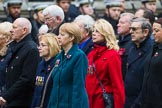 Remembrance Sunday at the Cenotaph 2015: Group M23, Civilians Representing Families. Cenotaph, Whitehall, London SW1, London, Greater London, United Kingdom, on 08 November 2015 at 12:17, image #1579