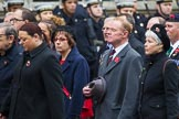 Remembrance Sunday at the Cenotaph 2015: Group M23, Civilians Representing Families. Cenotaph, Whitehall, London SW1, London, Greater London, United Kingdom, on 08 November 2015 at 12:17, image #1581