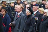 Remembrance Sunday at the Cenotaph 2015: Group M23, Civilians Representing Families. Cenotaph, Whitehall, London SW1, London, Greater London, United Kingdom, on 08 November 2015 at 12:17, image #1582