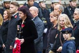 Remembrance Sunday at the Cenotaph 2015: Group M23, Civilians Representing Families. Cenotaph, Whitehall, London SW1, London, Greater London, United Kingdom, on 08 November 2015 at 12:17, image #1585