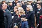Remembrance Sunday at the Cenotaph 2015: Group M23, Civilians Representing Families. Cenotaph, Whitehall, London SW1, London, Greater London, United Kingdom, on 08 November 2015 at 12:17, image #1586