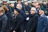 Remembrance Sunday at the Cenotaph 2015: Group M24, Royal Mail Group Ltd. Cenotaph, Whitehall, London SW1, London, Greater London, United Kingdom, on 08 November 2015 at 12:17, image #1592
