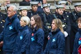 Remembrance Sunday at the Cenotaph 2015: Group M26, The Blue Cross. Cenotaph, Whitehall, London SW1, London, Greater London, United Kingdom, on 08 November 2015 at 12:18, image #1601