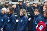 Remembrance Sunday at the Cenotaph 2015: Group M26, The Blue Cross. Cenotaph, Whitehall, London SW1, London, Greater London, United Kingdom, on 08 November 2015 at 12:18, image #1602