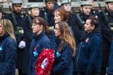 Remembrance Sunday at the Cenotaph 2015: Group M26, The Blue Cross. Cenotaph, Whitehall, London SW1, London, Greater London, United Kingdom, on 08 November 2015 at 12:18, image #1603