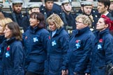Remembrance Sunday at the Cenotaph 2015: Group M26, The Blue Cross. Cenotaph, Whitehall, London SW1, London, Greater London, United Kingdom, on 08 November 2015 at 12:18, image #1606