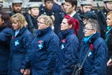 Remembrance Sunday at the Cenotaph 2015: Group M26, The Blue Cross. Cenotaph, Whitehall, London SW1, London, Greater London, United Kingdom, on 08 November 2015 at 12:18, image #1607