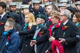 Remembrance Sunday at the Cenotaph 2015: Group M27, PDSA. Cenotaph, Whitehall, London SW1, London, Greater London, United Kingdom, on 08 November 2015 at 12:18, image #1608