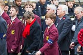 Remembrance Sunday at the Cenotaph 2015: Group M29, Old Cryptians' Club. Cenotaph, Whitehall, London SW1, London, Greater London, United Kingdom, on 08 November 2015 at 12:18, image #1617