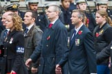 Remembrance Sunday at the Cenotaph 2015: Group M33, Ministry of Defence. Cenotaph, Whitehall, London SW1, London, Greater London, United Kingdom, on 08 November 2015 at 12:18, image #1632