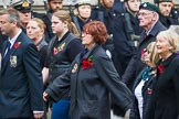 Remembrance Sunday at the Cenotaph 2015: Group M33, Ministry of Defence. Cenotaph, Whitehall, London SW1, London, Greater London, United Kingdom, on 08 November 2015 at 12:18, image #1633