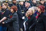 Remembrance Sunday at the Cenotaph 2015: Group M34, TRBL Non Ex-Service Members. Cenotaph, Whitehall, London SW1, London, Greater London, United Kingdom, on 08 November 2015 at 12:18, image #1634