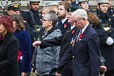 Remembrance Sunday at the Cenotaph 2015: Group M34, TRBL Non Ex-Service Members. Cenotaph, Whitehall, London SW1, London, Greater London, United Kingdom, on 08 November 2015 at 12:18, image #1636