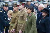 Remembrance Sunday at the Cenotaph 2015: Group M34, TRBL Non Ex-Service Members. Cenotaph, Whitehall, London SW1, London, Greater London, United Kingdom, on 08 November 2015 at 12:18, image #1639