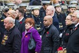 Remembrance Sunday at the Cenotaph 2015: Group M34, TRBL Non Ex-Service Members. Cenotaph, Whitehall, London SW1, London, Greater London, United Kingdom, on 08 November 2015 at 12:18, image #1642