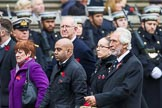 Remembrance Sunday at the Cenotaph 2015: Group M34, TRBL Non Ex-Service Members. Cenotaph, Whitehall, London SW1, London, Greater London, United Kingdom, on 08 November 2015 at 12:18, image #1643