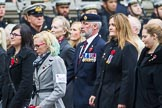 Remembrance Sunday at the Cenotaph 2015: Group M35, TRBL Women's Section. Cenotaph, Whitehall, London SW1, London, Greater London, United Kingdom, on 08 November 2015 at 12:18, image #1645
