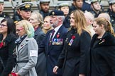 Remembrance Sunday at the Cenotaph 2015: Group M35, TRBL Women's Section. Cenotaph, Whitehall, London SW1, London, Greater London, United Kingdom, on 08 November 2015 at 12:18, image #1646