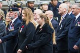 Remembrance Sunday at the Cenotaph 2015: Group M35, TRBL Women's Section. Cenotaph, Whitehall, London SW1, London, Greater London, United Kingdom, on 08 November 2015 at 12:18, image #1647