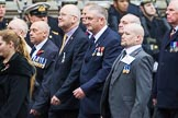 Remembrance Sunday at the Cenotaph 2015: Group M36, Union Jack Club. Cenotaph, Whitehall, London SW1, London, Greater London, United Kingdom, on 08 November 2015 at 12:18, image #1648