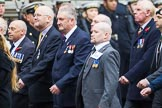 Remembrance Sunday at the Cenotaph 2015: Group M36, Union Jack Club. Cenotaph, Whitehall, London SW1, London, Greater London, United Kingdom, on 08 November 2015 at 12:18, image #1649