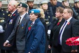 Remembrance Sunday at the Cenotaph 2015: Group M36, Union Jack Club. Cenotaph, Whitehall, London SW1, London, Greater London, United Kingdom, on 08 November 2015 at 12:18, image #1650