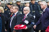 Remembrance Sunday at the Cenotaph 2015: Group M37, Western Front Association. Cenotaph, Whitehall, London SW1, London, Greater London, United Kingdom, on 08 November 2015 at 12:18, image #1651