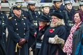 Remembrance Sunday at the Cenotaph 2015: Group M45, Romany & Traveller Society. Cenotaph, Whitehall, London SW1, London, Greater London, United Kingdom, on 08 November 2015 at 12:19, image #1687