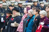 Remembrance Sunday at the Cenotaph 2015: Group M45, Romany & Traveller Society. Cenotaph, Whitehall, London SW1, London, Greater London, United Kingdom, on 08 November 2015 at 12:19, image #1688