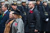 Remembrance Sunday at the Cenotaph 2015: Group M45, Romany & Traveller Society. Cenotaph, Whitehall, London SW1, London, Greater London, United Kingdom, on 08 November 2015 at 12:20, image #1690