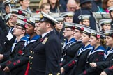 Remembrance Sunday at the Cenotaph 2015: Group M47, Combined Cadet Force. Cenotaph, Whitehall, London SW1, London, Greater London, United Kingdom, on 08 November 2015 at 12:20, image #1699
