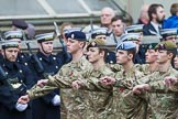 Remembrance Sunday at the Cenotaph 2015: Group M48, Army Cadet Force. Cenotaph, Whitehall, London SW1, London, Greater London, United Kingdom, on 08 November 2015 at 12:20, image #1705