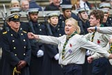 Remembrance Sunday at the Cenotaph 2015: Group M50, Scout Association. Cenotaph, Whitehall, London SW1, London, Greater London, United Kingdom, on 08 November 2015 at 12:20, image #1718