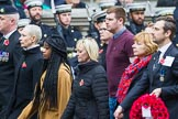 Remembrance Sunday at the Cenotaph 2015: Group M57, YMCA, and the not listed group M58. Cenotaph, Whitehall, London SW1, London, Greater London, United Kingdom, on 08 November 2015 at 12:21, image #1756