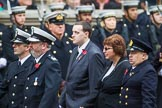 Remembrance Sunday at the Cenotaph 2015: If you know which group is shown here, please email cenotaph@haraldjoergens.com. Cenotaph, Whitehall, London SW1, London, Greater London, United Kingdom, on 08 November 2015 at 12:21, image #1759