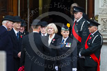 Remembrance Sunday at the Cenotaph 2015: Representatives of Royal British Legion and other charities gather at the entrance of the Foreign- and Commonwealth Office Building. Image #20, 08 November 2015 09:56 Whitehall, London, UK
