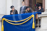 Remembrance Sunday at the Cenotaph 2015: Guests on one of the balconies of the Foreign- and Commonwealth Office Building. Image #31, 08 November 2015 10:18 Whitehall, London, UK