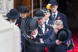 Remembrance Sunday at the Cenotaph 2015: Leading members of the Royal British Legion, the Royal Air Force Association, the Royal Navy Association, the Royal Commonwealth Ex-Services League and Transport for London leaving the Foreign- and Commonwealth Office. Image #66, 08 November 2015 10:40 Whitehall, London, UK