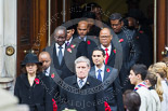 Remembrance Sunday at the Cenotaph 2015: The High Commissioners or their representatives leaving the Foreign- and Commonwealth Office. Image #94, 08 November 2015 10:55 Whitehall, London, UK