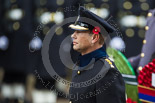 Remembrance Sunday at the Cenotaph 2015: HRH The Earl of Wessex (Prince Edward) in the Uniform of a Royal Honorary Colonel of The Royal Wessex Yeomanry, standing at the Cenotaph. Image #143, 08 November 2015 10:59 Whitehall, London, UK