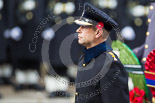 Remembrance Sunday at the Cenotaph 2015: HRH The Earl of Wessex, wearing the uniform of a Royal Honorary Colonel   of The Royal Wessex Yeomanry. Image #161, 08 November 2015 11:03 Whitehall, London, UK