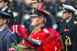 Remembrance Sunday at the Cenotaph 2015: Major‐General Hans van der Louw, equerry to HM The King of the Netherlands, Willem-Alexander. Image #165, 08 November 2015 11:03 Whitehall, London, UK