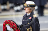 Remembrance Sunday at the Cenotaph 2015: Commander Anne Sullivan, Royal Navy, Equerry to the Princess Royal. Image #169, 08 November 2015 11:03 Whitehall, London, UK