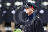 Remembrance Sunday at the Cenotaph 2015: Captain Hugh Vere Nicoll, equerry to the Duke of Essex. Image #170, 08 November 2015 11:03 Whitehall, London, UK