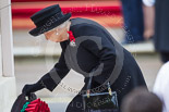 Remembrance Sunday at the Cenotaph 2015: HM The Queen at the Cenotaph, laying her wreath. Image #176, 08 November 2015 11:03 Whitehall, London, UK