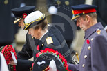Remembrance Sunday at the Cenotaph 2015: HRH The Duke of Kent, HRH The Princess Royal, and HRH The Earl of Wessex laying their wreaths at the Cenotaph. Image #199, 08 November 2015 11:05 Whitehall, London, UK