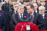 Remembrance Sunday at the Cenotaph 2015: The Prime Minister, David Cameron, walking with his wreath toward the Cenotaph. Image #201, 08 November 2015 11:06 Whitehall, London, UK